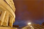 Ateneul Roman - Acoperis portic